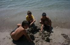 Наши на пляже