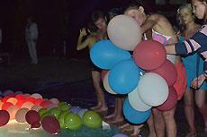Cупер вечеринка у бассейна